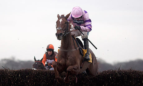 Silviniaco Conti wins the Betfair Chase at Haydock