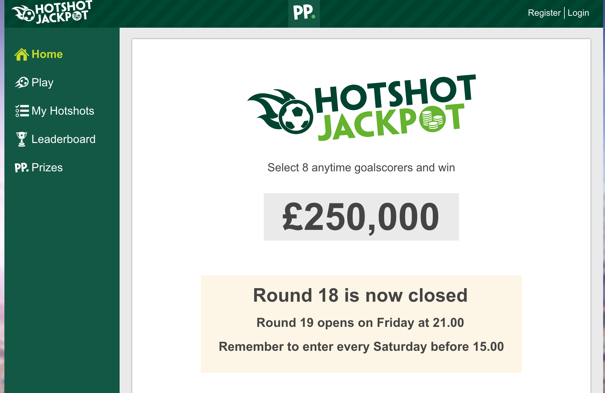 paddy power hotshots